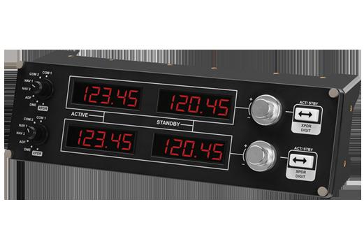 logicool g flight simulator cockpit radio panel